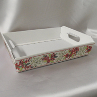 Floral Pattern Gift tray