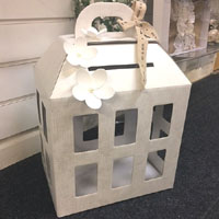 wedding post box chest style