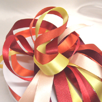 7mm double faced satin ribbon