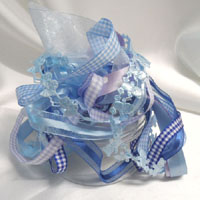 baby themed ribbon bags