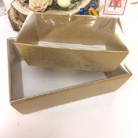 gift tray with transparent Lid